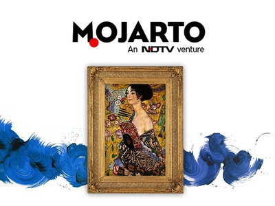Designing Mojarto  white graphic design web design layout mosaic ndtv art branding design ux ui