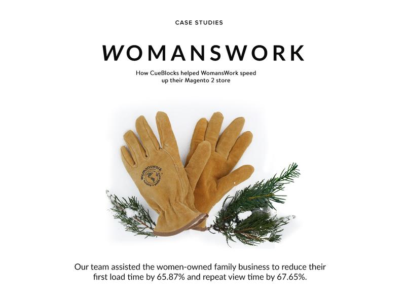 Case Study - Womanswork font typography design branding