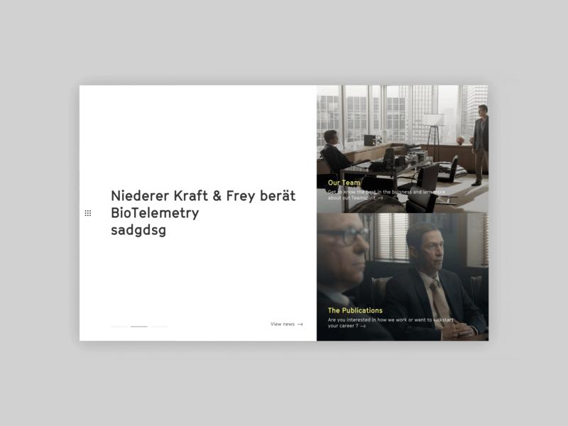 NKF concept web design digital web