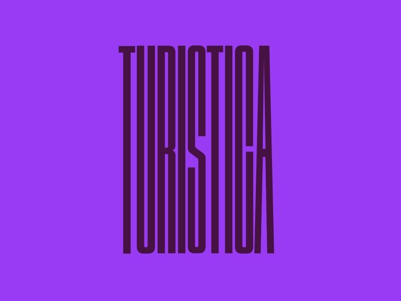 Turistica typography designinspiration graphicdesign graphic logodesign logo mark logotype logo