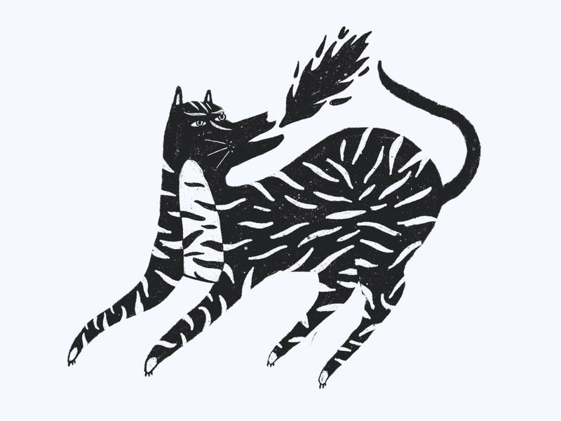 Wake & Sketch sketch morning coffee animal illustraion