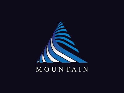 Mountain Logo Concept concept logo vector illustrator