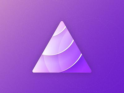 Triangle n°1 graphic design vector illustrator