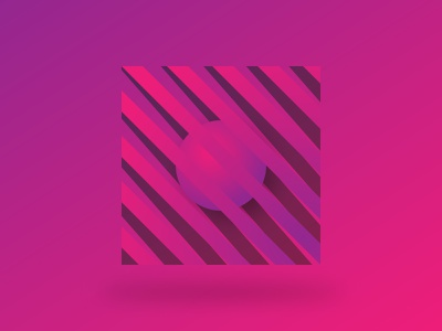 Pink Thing graphic design vector illustrator