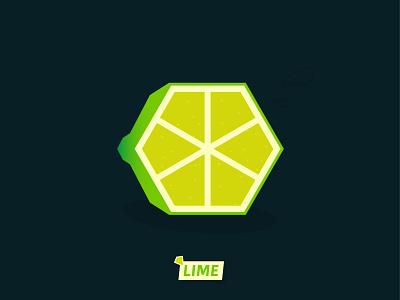 🍋lime logo illustration graphic design vector illustrator
