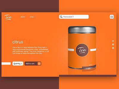 Tea website 2 website design webdesign website web branding ux ui design graphic design