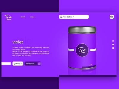 Tea website 3 website design webdesign website web ux ui design branding graphic design