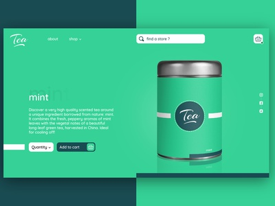 Tea website 4 website design webdesign website web ux ui design branding graphic design