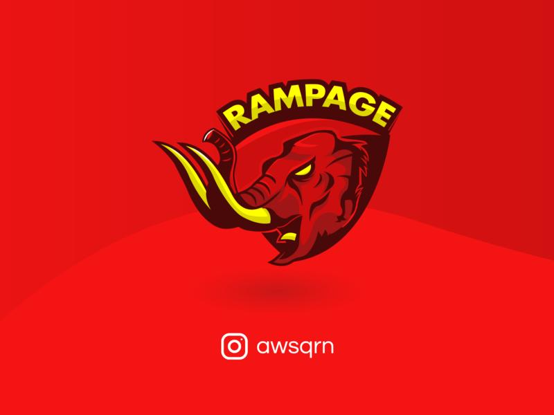 Rampage E-Sport Logo