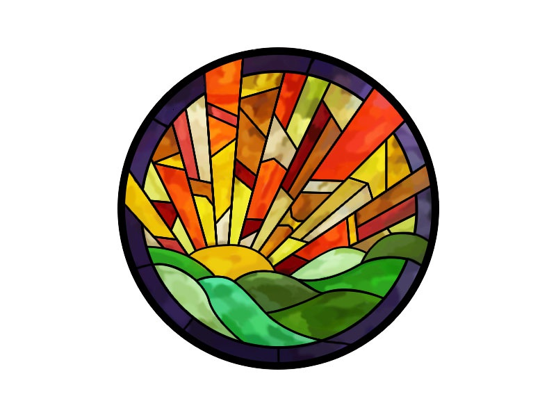 Stained Glass Window By Leah Smyth On Dribbble