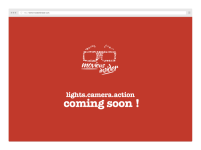 Coming Soon Page for Moviews Insider