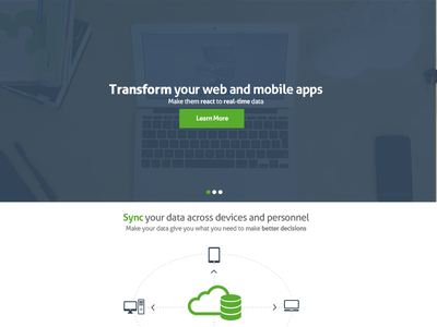 Concept Design for Startup Web Development Company