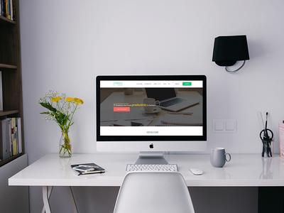 Landing Page, Website