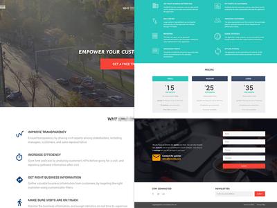WIP - Landing Page Full View