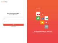 Login Screen UI Concept