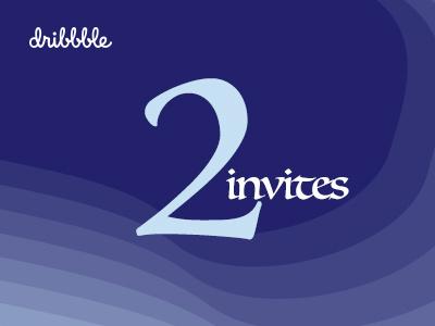 2 dribbble invites invite dribbble