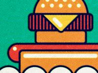 Hamburger Cheeseburger Hotdog WIP