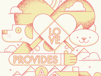 Love Provides A Home - changeclothing