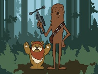 EP6 : Chewbacca & Widdle the Ewok
