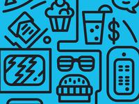 Work & Treats Icons WIP