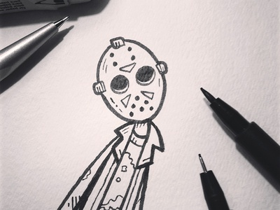 Inktober14-Day01-Jason
