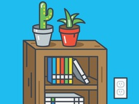 Books and Cacti