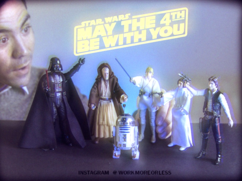 Happy May the 4th! action figures toys may 4th star wars day star wars