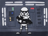 Stormtrooper Cel