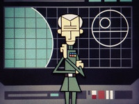 Moff Tarkin on the Death Star