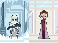 EP5 : Snowtrooper & Leia