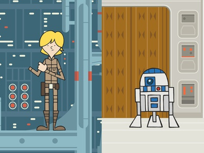 EP5 : Luke Skywalker & R2D2