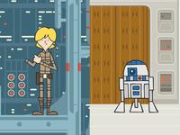 EP5 : Luke Skywalker & R2D2
