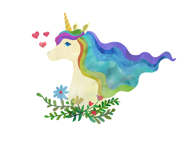 The most adorable unicorn