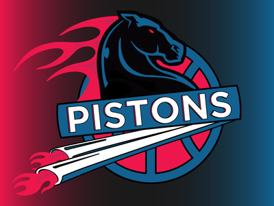 Logo - Detroit 90's Revamp. sports sport bad boys basketball logo detroit pistons detroit pistons nba