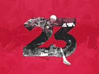 Number Collection - Michael Jordan