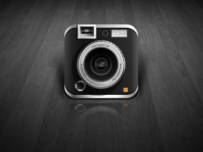Camera App Icon design icon ai illustrator work