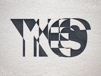 YESNO Letterpress