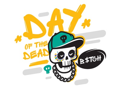 Day of the Death cartoon day of the death sugar skull vector skull