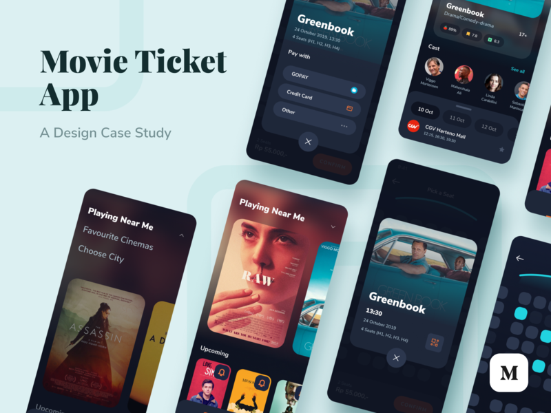 Movie Ticket App Case Study data survey ux ui mobile app app case study