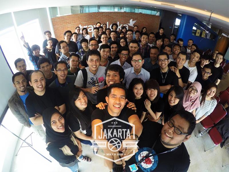 Jakarta Dribbble Meetup #1 meetup dribbble jakarta