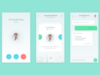 Contact doctor app attach
