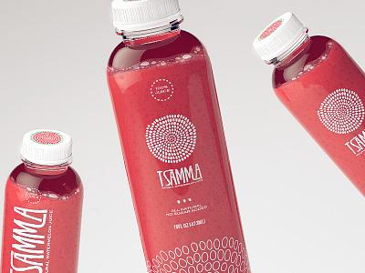 Tsamma watermelon red packaging