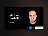 Design for my website mkdes.ru