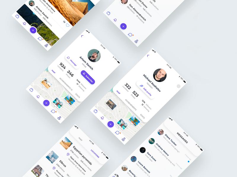 Travel App Design ui  ux interface clean design application app design apple adobe photoshop travel adobexd vector mobile iphone ios uiux ui minimalism minimalist minimal app