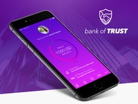 Bank of TRUST - iPhone App Concept