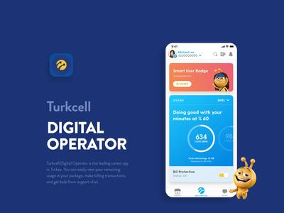 Main DO Behance digital operator branding illustration app art direction