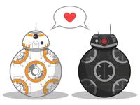 BB-8 <3 BB-9E