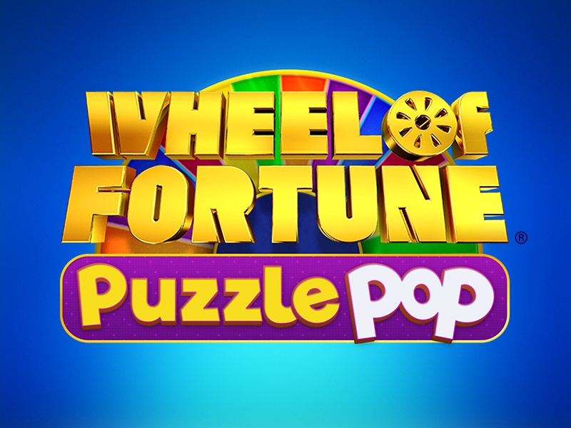 Wheel of Fortune Puzzle Pop Title Treatment