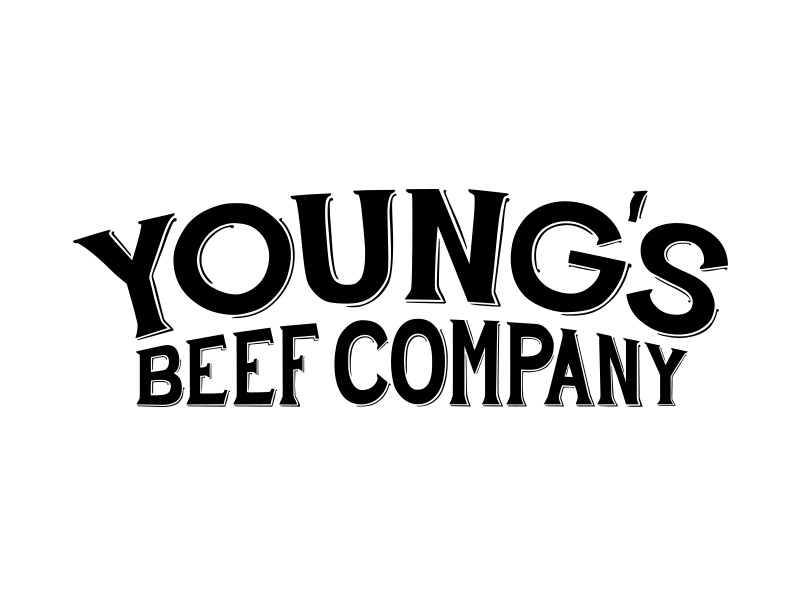 Young's Beef Company Logo Design