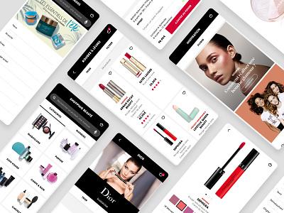Sephora — App brand beauty app inspiration plp product list page pdp product page sephora beauty ui cards user interface mobile ui mobile app mobile design app